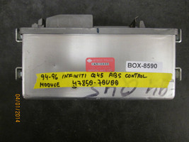 94 95 96 Infiniti Q45 Abs Control Module #47850 70 U00 *See Item Description* - $29.44