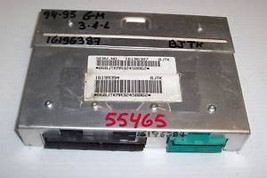 94 95 Gm  3.1 L  Ecu Ecm  16196387 W/Prom  Bjtk  (55465) - $49.49
