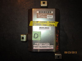 94 95 Honda Accord Tcu/Tcm #28100 P0 J A02 *See Item Description* - $21.03