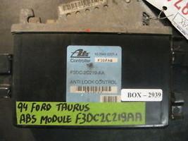 94 Ford Taurus Abs Module #F3 Dc2 C219 Aa - $59.39