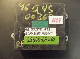 96 Infiniti Q45 Seat Module Bcu/Bcm:28565 67 U10 (1127) - $84.15