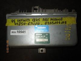 97 Infiniti Q45 Abs Module #47850 67 U10,0265106116 Box 10541 *See Item* - $58.90