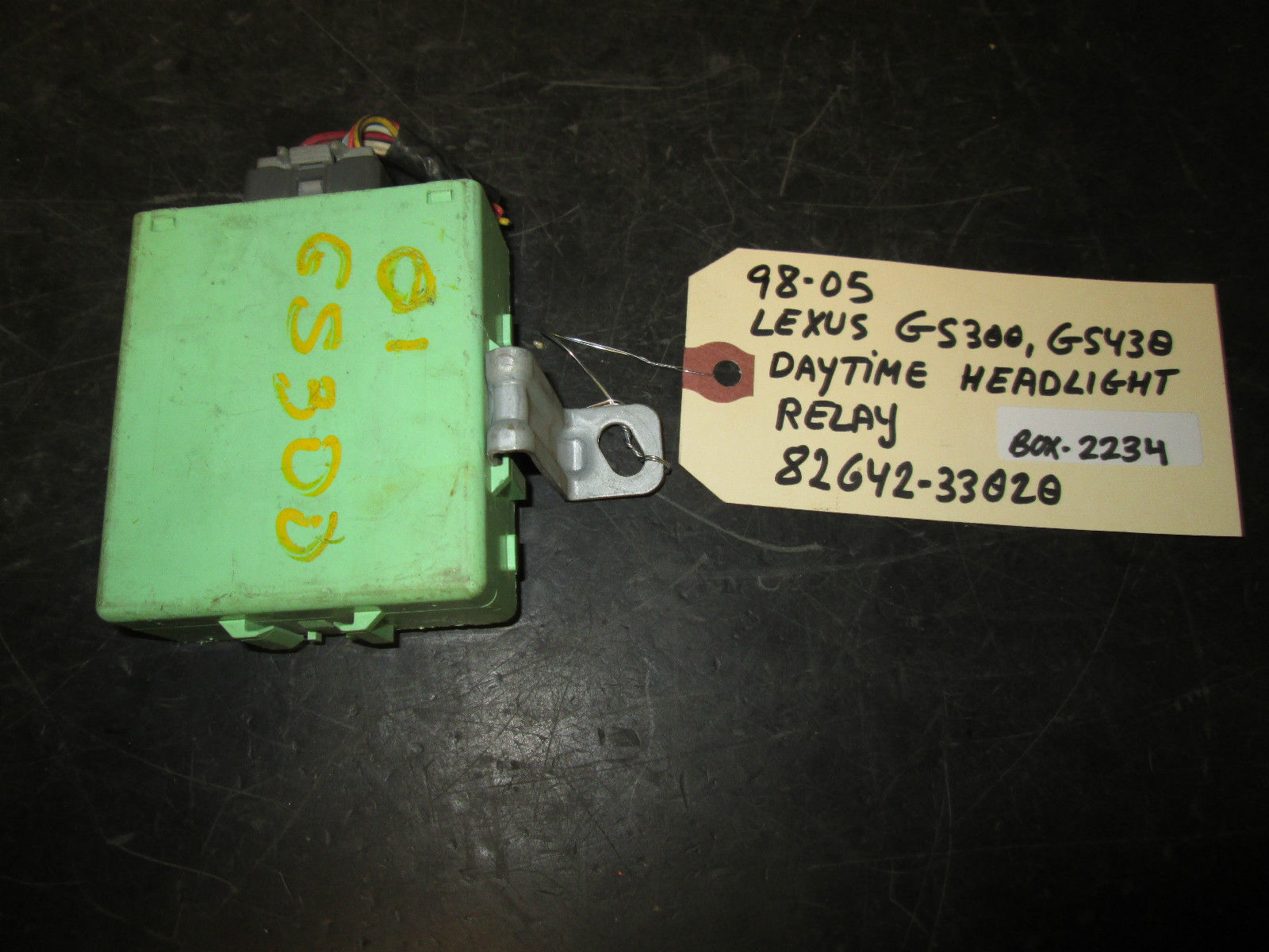 Primary image for 98-05 LEXUS GS300,GS430 DAYTIME HEADLIGHT RELAY #82642-33020 *See item*