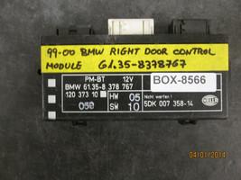 99 00 Bmw Right Door Control Module #61.35 8378767 *See Item Description* - $25.24