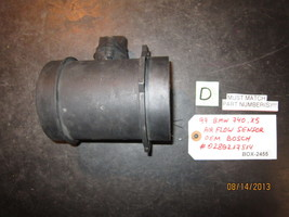 99 Bmw 740,X5 Air Flow Sensor Oem Bosch #0280217814 *See Item Description* - $42.08