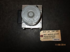 Audi A4,Vw,Bmw Abs Module & Pump #0265950375/0265234134 Abs 183 *See Item* - $143.05