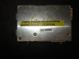 Chevy Pickup Communication Onstar Module #15184769 Box 10899 *See Item* - $37.87