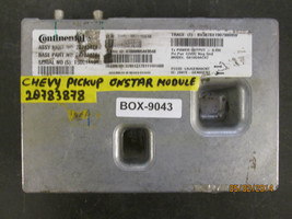 Chevy Pickup Onstar Module #20783878 *See Item Description* - $84.14