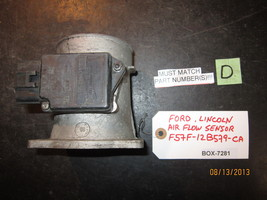 FORD,LINCOLN AIR FLOW SENSOR #F57F-12B579-CA *See item description* - $20.20