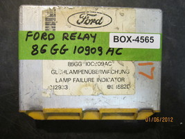 Ford Relay Control Module #86 Gg10 C909 Ac *See Item Description* - $42.07