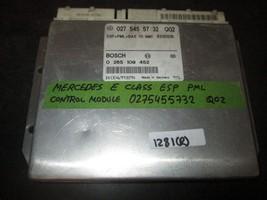 Mercedes E Class Esp/Pml/Abs Control Module #0275455732 Q02 *See Description* - $59.39