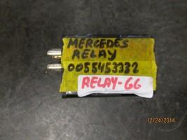 Mercedes Relay #0055453332 Relay 66 *See Item Description* - $11.74