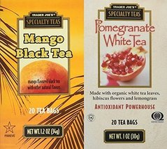Trader Joes Mango Black & Pomegranate White Tea... - $24.95