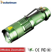 Led Flashlight Torch Cree Tactical 2000LM Charger Battery Zoomable Modes... - $6.89