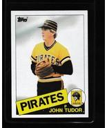 1985 Topps John Tudor #214 - $3.50