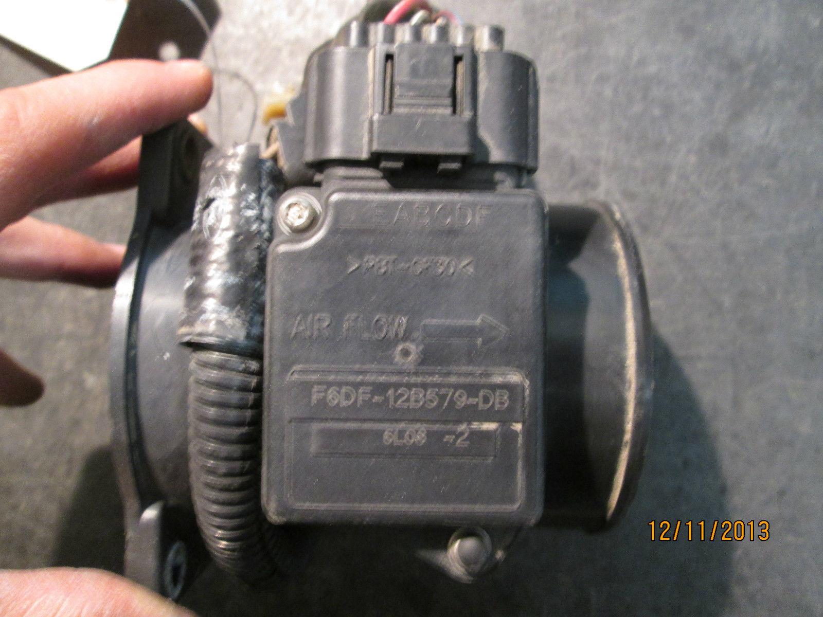 97 98 FORD AIR FLOW SENSOR #F6DF-12B579-DB *See item description*
