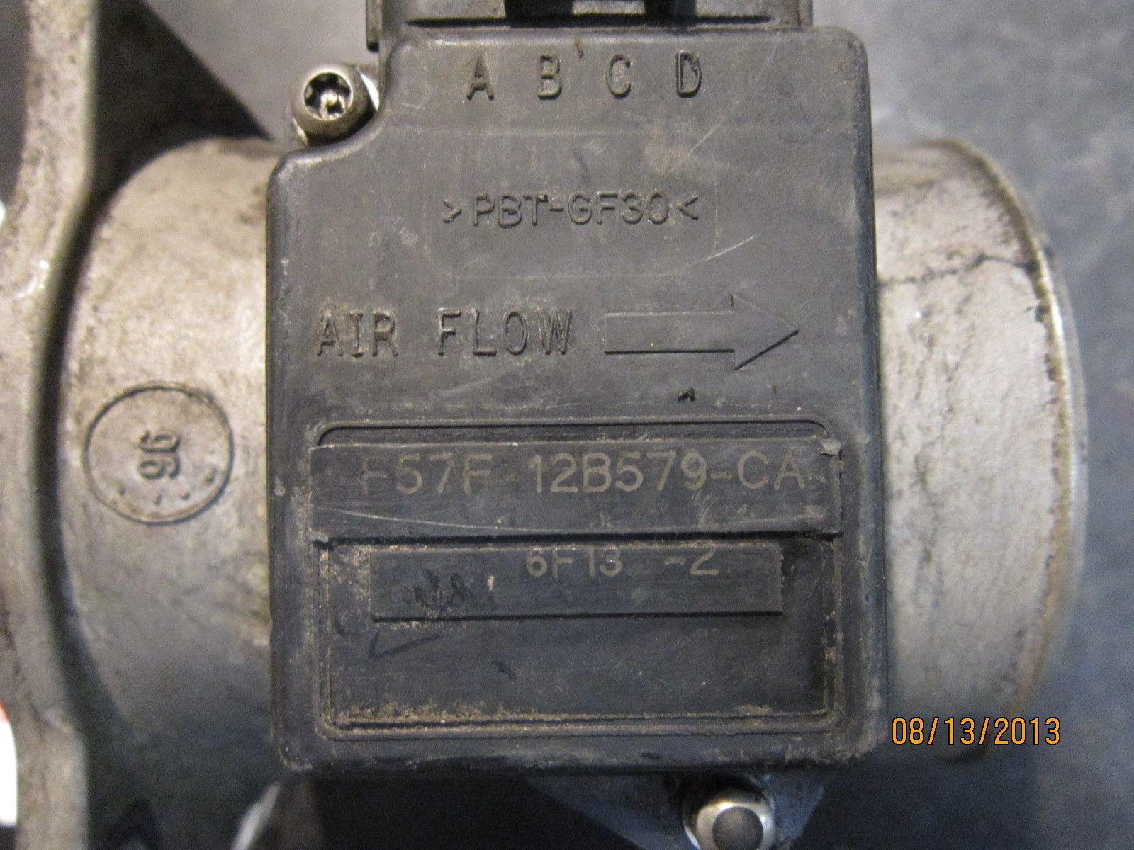 FORD,LINCOLN AIR FLOW SENSOR #F57F-12B579-CA *See item description*