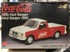 AMT ERTL Coca-Cola 1995 Ford Ranger Model Kit Complete Unassembled - $39.19