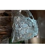 Brilliant Cut Glass Crystal Handled Creamer - $46.00