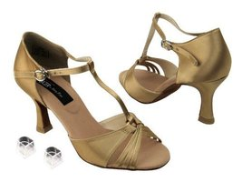 "Ladies Women Ballroom Dance Shoes from Very Fine CD2165 Series 3"" Heel (... - $79.95"