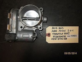 12 13 FORD FOCUS 2.0L THROTTLE BODY #0280750576/DS7E-9F991-BB *See item* - $84.15