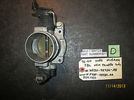 96 97 98 99 00 FORD MUSTANG 3.8L OEM THROTTLE BODY #XR3U-9E926-AB/F45F-9... - $59.39