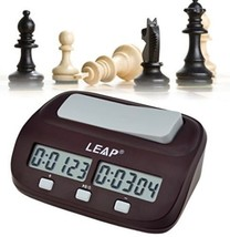Inkint Professional Digital Chess Clock Count Down Timer With Alarm Ele... - $42.60