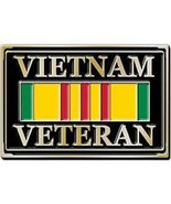 Vietnam Veteran Service Ribbon Belt Buckle - $16.99