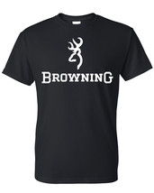 Browning t shirt shirt,deer,buck,buckmark logo  - $14.99