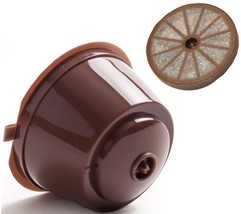 Refillable Nespresso Dolce Gusto Capsule Reusable Pod Coffee Filter Cup ... - $7.84