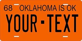 Oklahoma 1968 Personalized Tag Vehicle Car Auto License Plate - $16.75