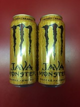 Monster Java Salted Caramel Energy Drink Cans. 2 Full Sealed Cans. New 2... - $21.77