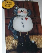 Charlie Backyard Snowman Happy Hollow Designs T... - $5.50