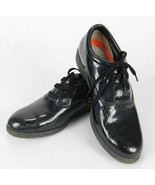 Unisex DINKLES Black Patent Leather Marching Shoes Size 8 1/2 Women 6 1/... - $27.99