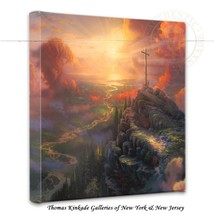 "Thomas Kinkade Wrap - The Cross – 14"" x 14"" Gal... - $75.00"