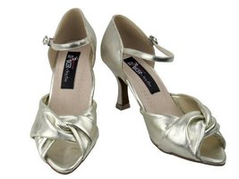 "Ladies Rhythm Salsa Competitive Dancer CD6043 Light Gold 2.5"" (9.5M) - $79.95"