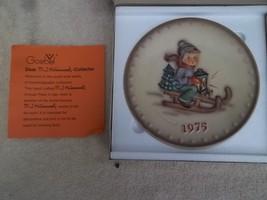 Hummel Plate - Hum268 Annual Plate - Ride Into Christmas - 1975 W/ Original Box - $22.50