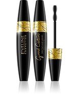 Eveline Cosmetics Grand Couture Mascara Spectacular Black Lsahes - $6.85