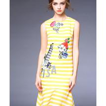 Bead Embroidery Microgroove Temperament Fishtail Skirt Dress60191   S - $82.99