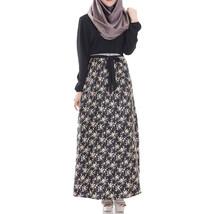 Muslim Long Dress Women Garments   black  L - $30.99