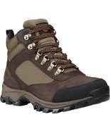 Timberland Men's Keele Ridge Waterproof Hiking Boot,Dark Brown Full Grai... - $90.16
