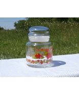 Strawberry Shortcake Candy Jar Sugar Container Vintage 1980 American Gre... - $10.99