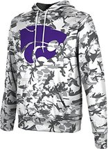 ProSphere Men's Kansas State University Camo Pullover Hoodie L