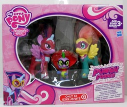 My Little Pony Twilight Sparkle, Fluttershy and Spike Power Ponies - $267,57 MXN