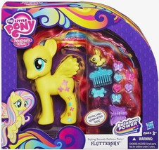 My Little Pony Fluttershy Styling Strands Fashion Rainbow Power  - $325,11 MXN