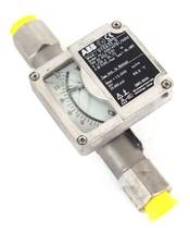 """NEW ABB D10A32-5 FLOWMETER 1/2"""" NPT ORDER NO. 240144761/X052 D10A325 image 1"""
