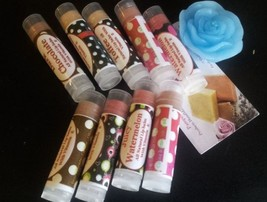 Homemade Handmade Organic Tinted Lip Balm Moisturizer -2Pcs, 5pcs, 10pcs - $3.85+