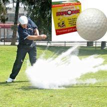 EXPLODING GOLF BALL ~ Smoke Dust Cloud Gag Joke... - $11.50