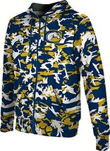 ProSphere Men's University of California Davis Camo Full-zip Hoodie L