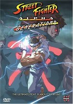 Street Fighter Alpha: Generations (DVD, 2005)